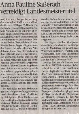 Rheinische Post am 15.08.2019