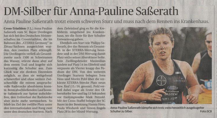 Rheinische Post 22.08.2017