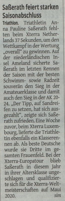 Westdeutsche Zeitung am 18.09.2019