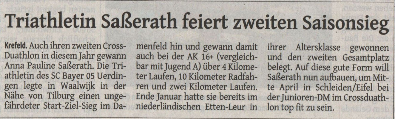Rheinische Post 26.02.2015