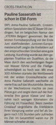 Rheinische Post 17.06.2016