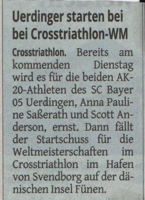 Westdeutsche Zeitung 10.07.2018
