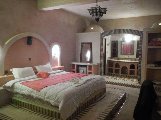 Las habitaciones del hotel durante el retiro