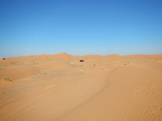 La Haima para meditar en medio de las dunas del Sáhara