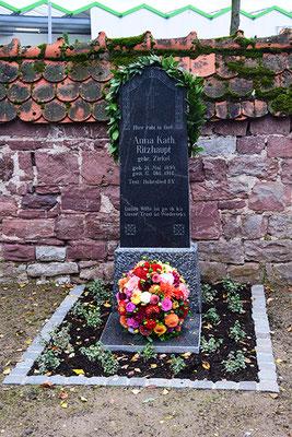 Pandemiemahnmal Hauptfriedhof Wiesloch