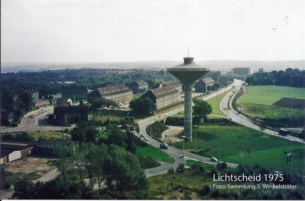 Neuer Wasserturm; hier stand der Hof Neeb