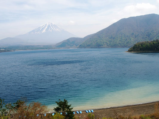 From Lake Motosu