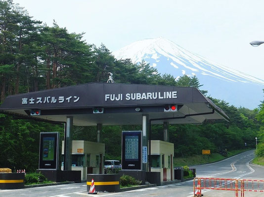 Toll Gate & Mt. Fuji