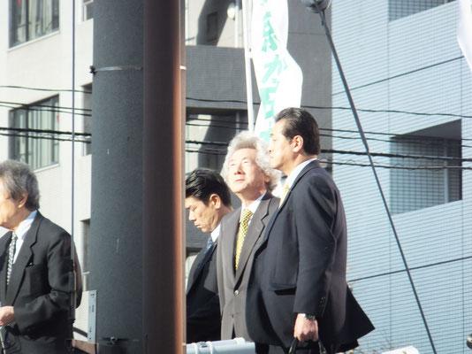 Former Prime Minister Koizumi