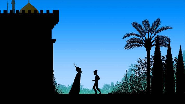 L'écolier sorcier (Dragons & princesses de Michel Ocelot - 2010)