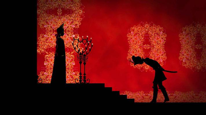 Ivan Tsarevitch et la princesse changeante (Dragons & princesses de Michel Ocelot - 2010)