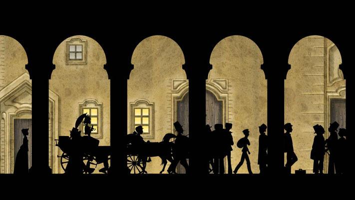 Le pont du petit cordonnier (Dragons & princesses de Michel Ocelot - 2010)