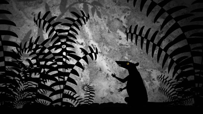 La maîtresse des monstres (Dragons & princesses de Michel Ocelot - 2010)
