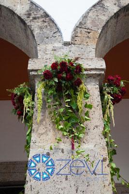 flores para eventos en Guadalajara www.zevievents.com