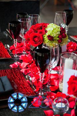 Noce de Gala con diseño floral en guadalajara www.zevievents.com