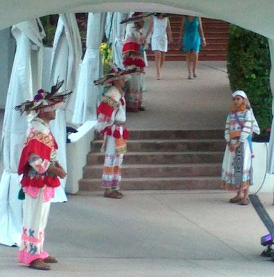bienvenida huichol para eventos en riviera nayarit www.zevievents.com