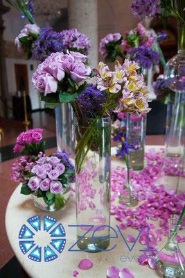 Flores para eventos en vallarta www.zevievents.com