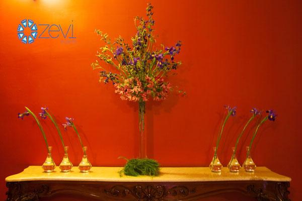Florista para eventos en vallarta www.zevievents.com