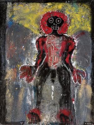 La Transe - Acrylique sur toile  200 x 150 cm