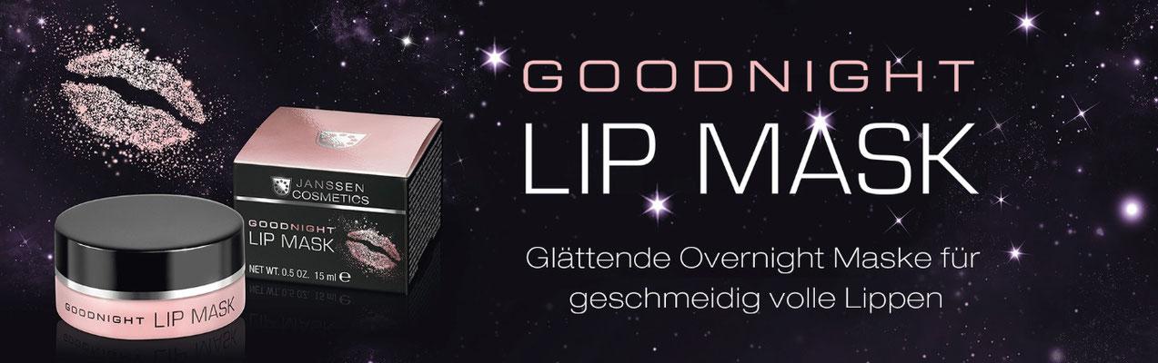 die neue Lippenmaske von Janssen Cosmetiks