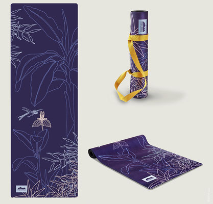 FOREST- Surface pattern design - Yoga mat - NATURE & DÉCOUVERTES