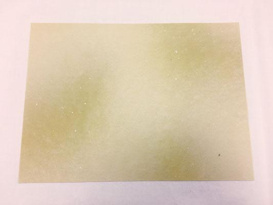 純楮紙 全体ボカシ切箔砂子(A)