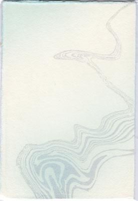 墨流し(銀パール)