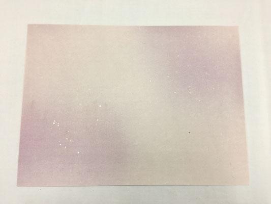 純楮紙 全体ボカシ切箔砂子(E)
