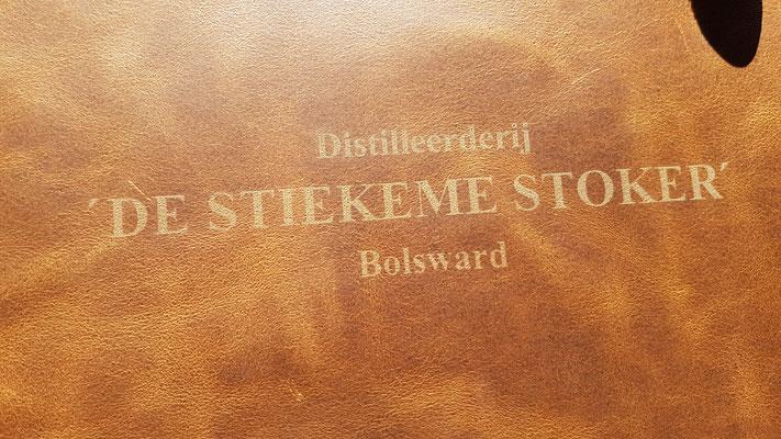 Leren schort - Distilleerderij De Stiekeme Stoker