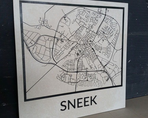 Plattegrond Sneek - Deco Tiles