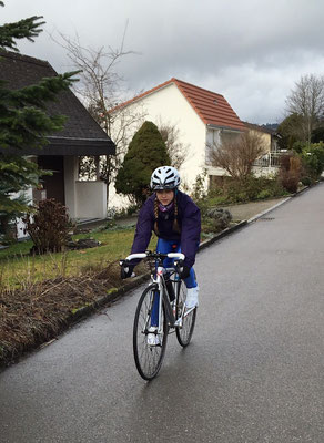 Training für Tour de Lauro 2016