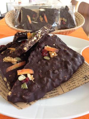 チョコレートバーク②