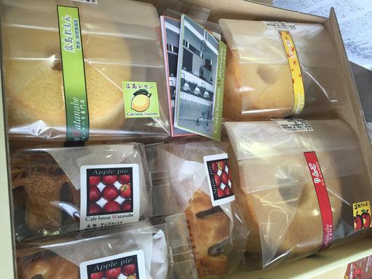 贈答セット:シフォンとパイと苺サンドケーキのお取り寄せ