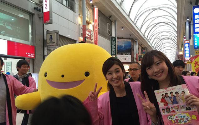 ぽるふぇすのキャンペーンで広島ホームの女子アナ(小嶋アナ&大重アナ)と遭遇!勤務後スープカレーをご購入されました!