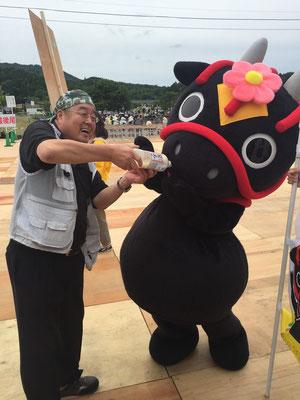 舞太郎はどぶろくを頂いています❤