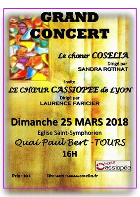 concert du 25 mars 2018