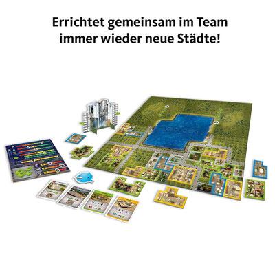 Cities Skyline - Spielaufbau
