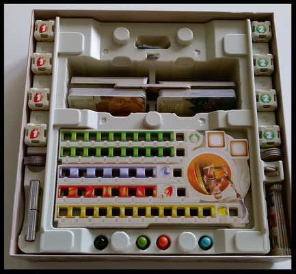 Dice Forge - Spielkarton innen