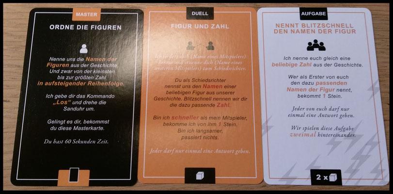 Master-, Duell- und Aufgabenkarten - Happy Numbers