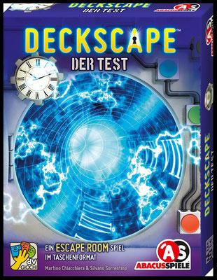 Deckscape: Spielschachtel Vorderseite