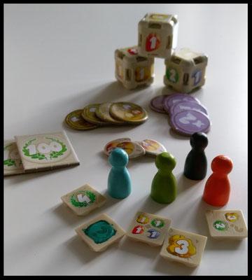Dice Forge - Spielsteine & Marker