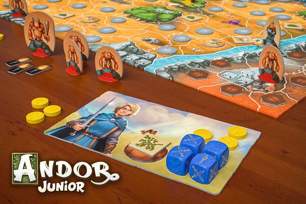 Spielmaterial Andor Junior