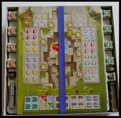 Dice Forge - Spielkarton innen (Tempel)