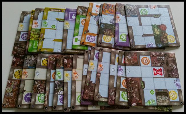 Kartenteile Magic Maze