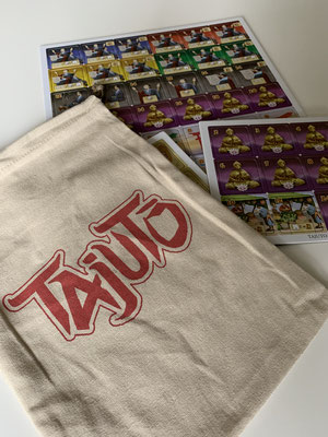 Tajuto - Beutel und Plättchen