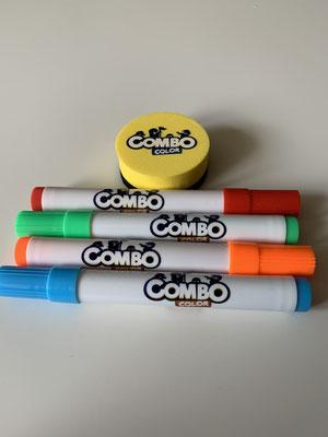 Combo Color - Stifte & Schwamm