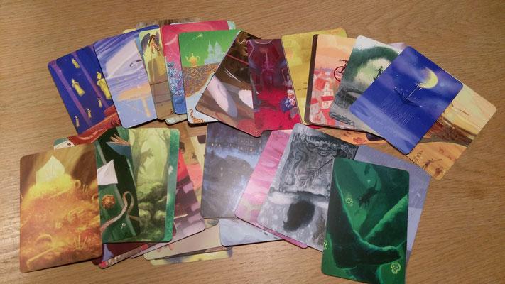 Alle Visionskarten