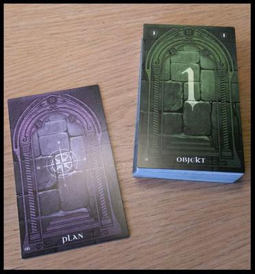 Objekte & Plan - Die Drachenprophezeiung
