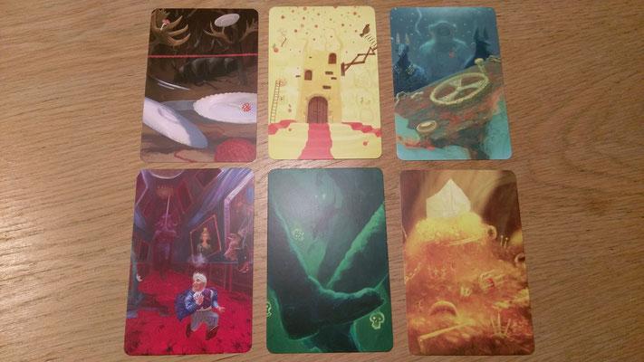 Einige Visionskarten im Detail