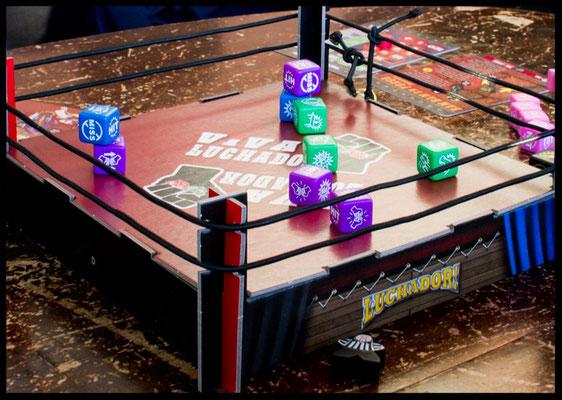 Luchador! - 3D-Ring